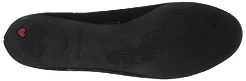 BeautiFeel Jolie Flat Ballet Black Women's S4wr5qS