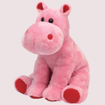5308f0a1b44 Ty Beanies Valentines Big Kiss Hippo  Amazon.co.uk  Toys   Games