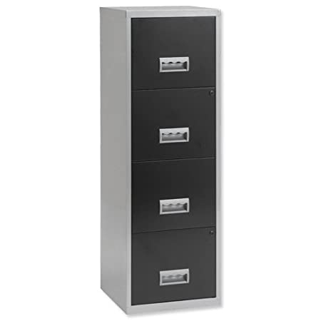 file black wide stainless filing cabinet cabinets steel
