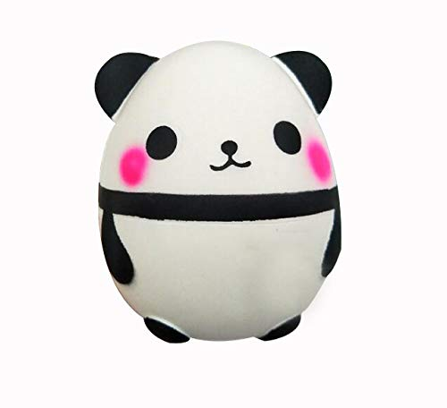 Kawaii Cartoon Silicone Toys Bread Straps Panda  Squishies Toys Squeeze