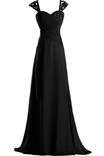Missdressy -  Vestito  - linea ad a - Donna nero 36