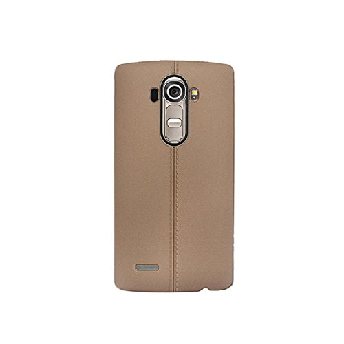 TPU Silicone Back Case for LG G4 (Brown) - 1