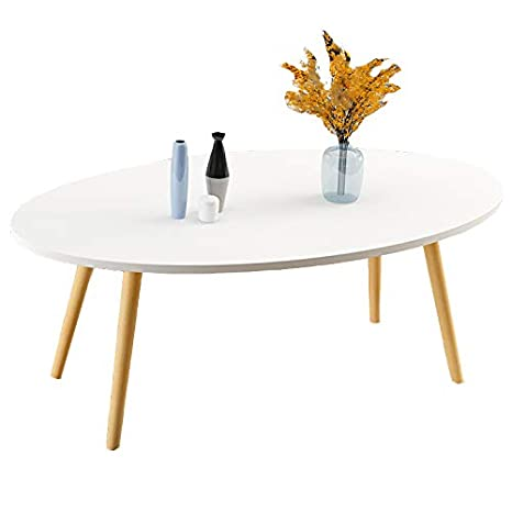 Side Table 100 Cm.Amazon Com Huo Coffee Table Simple Design Coffee Table Oval