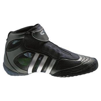 adidas uomini adistar pechino wrestling scarpa, nero