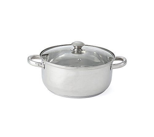 Chef's Quarters Stainless Steel 5.5-Qt. Dutch Oven