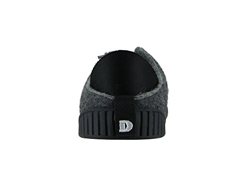 Sole Dark Removable Shoe with Dualyz 100 Fit Unisex Black Wool Slipper Grey q18RUZw
