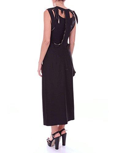 Kleid Margiela Langes Damen Maison Schwarz S29CT0700S48344 tZ7qwwxY