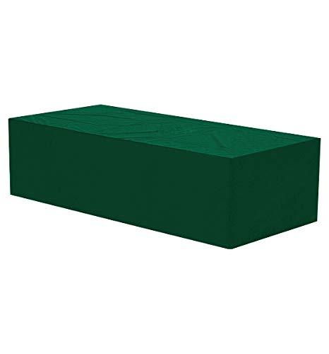 WOLTU GZ1173-c Copertura per Sedia a Sdraio Mobili da Giardino Telo di Coperture Cover Protezione Interni Esterni Antipolvere Polietilene PE Resistente Colore Verde