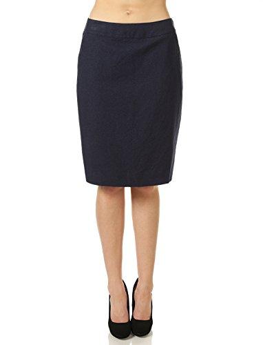 Lined Slim Skirt - 9