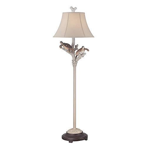 Seahaven Twin Turtle Night Light Floor Lamp 61.5 high