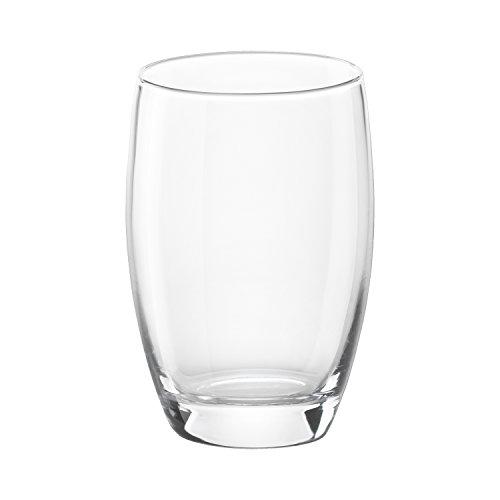 12.5 Ounce Glass (Bormioli Rocco Essenza Long Drink Glass, 12.5 Ounce, Set of 6)
