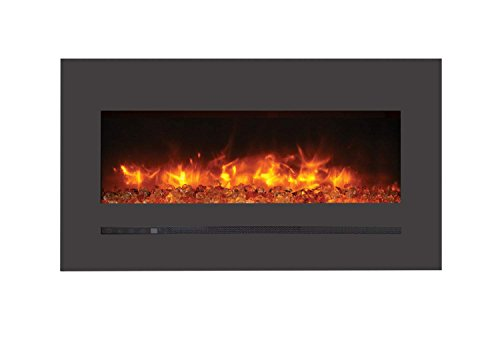 Cheap Sierra Flame Electric Fireplace with Surround (WM-FML-34-4023-STL) 34-Inch Black Friday & Cyber Monday 2019