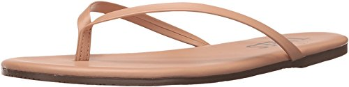 TKEES Women's Foundations Flip Flop, Nude Beach, 6 M US