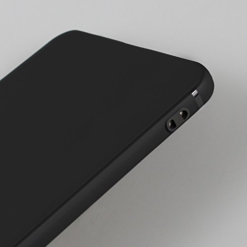 Funda para Huawei Honor 9 , IJIA Puro Negro Adorable Pony TPU Silicona Suave Cover Tapa Caso Parachoques Carcasa Cubierta Case para Huawei Honor 9 (5.15) Black-DUO5