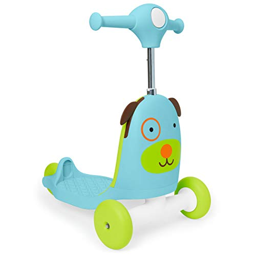 31Vth bVYcL - Skip Hop Kids 3-in-1 Baby Activity Walker & Ride On Scooter Wagon Toy, Dog