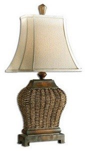 Uttermost 27502 30-Inch Tall Augustine Table Lamp, Rust -