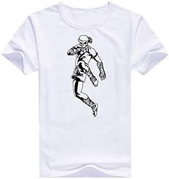 Round Neck Thai Boxing T-Shirt For Men