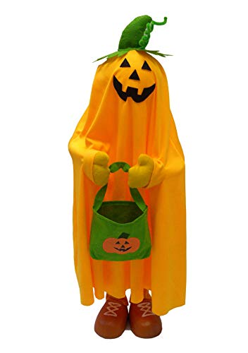 Ghoul House Halloween Porch Greeters (36'' Pumpkin Porch Greeter)