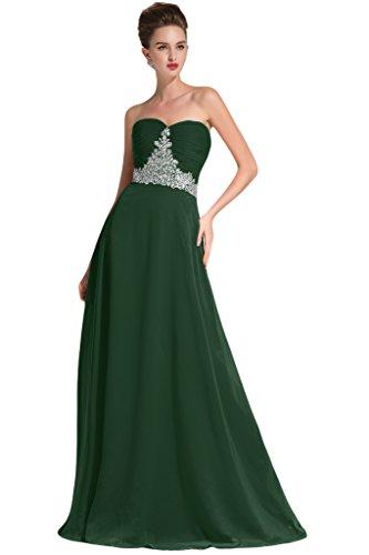 sunvary modesto gasa para espaguetis correa de vestidos de vestidos larga para Pageant Noche lila