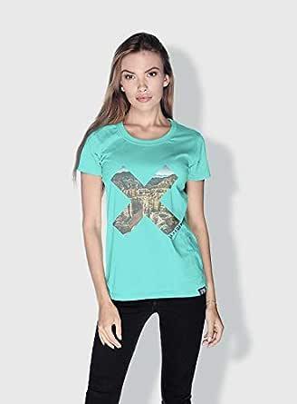Creo Almaty Mountain X City Love T-Shirts For Women - M