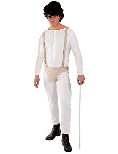 Adult Delinquent Man Costume (Droog Clockwork Orange Costume)