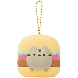 Pusheen Hamburger Keychain | Slow Rising Squishy 5