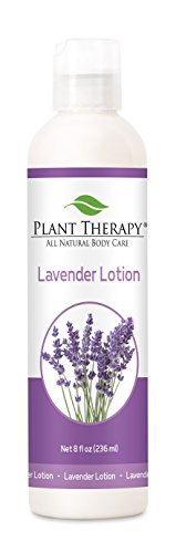 Plant Therapy Lavender Lotion 8 oz Aromatherapy Natural, Made with 100% Pure Essential Oils - Evening Primrose Rose Body Lotion