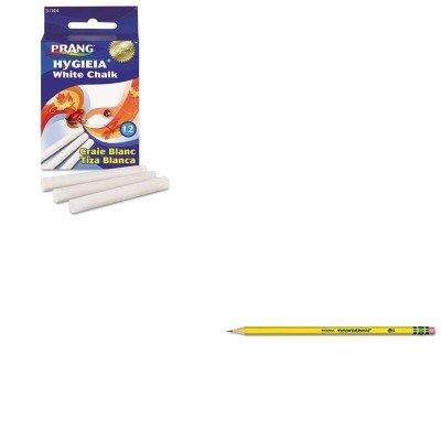 (KITDIX13882DIX31144 - Value Kit - Prang Hygieia Dustless Board Chalk (DIX31144) and Ticonderoga Woodcase Pencil (DIX13882))
