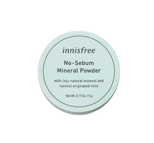 Innisfree No Sebum Mineral Powder 5g 0.17oz (Best Korean Compact Powder)