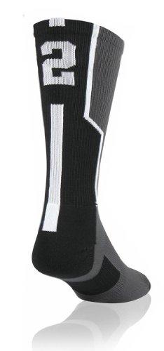 TCK Player Id Custom Number Sock (SINGLE SOCK)