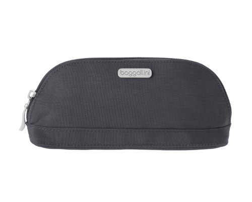 Baggallini Central Pouch, Charcoal, One Size
