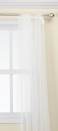 IKEA 90111980 Lill Sheer 2 Panels 98 X 110 1 Curtain Pair White