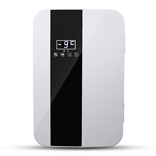 QIHANGCHEPIN Refrigerador portátil del coche 22L 12V DC 220V AC Refrigeración dual de la base Refrigeración Refrigerador...