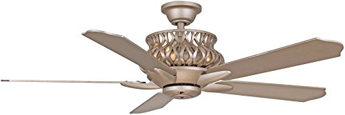 Wind River WR1431IG, Estela Iced Gold 52 Ceiling Fan with Remote