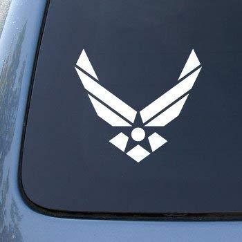 Decalgeek AIR FORCE Decal Truck Bumper Window Vinyl Sticker