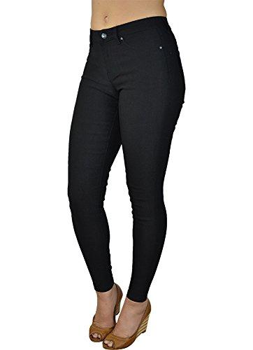 Alfa Global Junior's Stretch Dressy Black Pants M