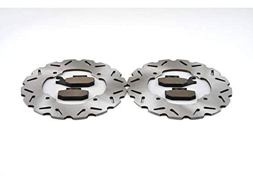 2014-15 Can-Am Maverick 1000R 4x4 XXC DPS Front Sport Brake Rotors & Brake Pads