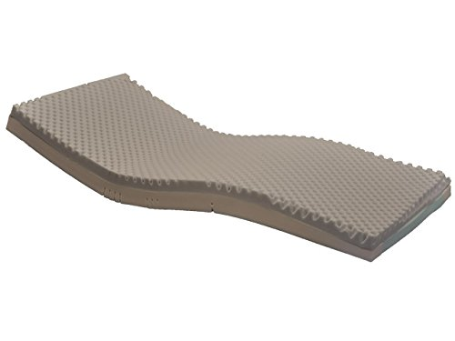 Joerns Bio Clinic Basic Mattress, Sidewalls, Stretch Cover, 35'' x 84''
