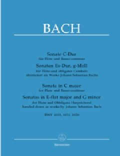 Bach: Flute Sonatas, BWV 1020, 1031, and 1033 (Handed Down as Works by Johann Sebastian Bach) - Johann Sebastian Bach Flute