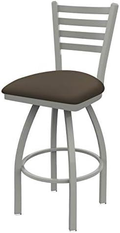 Holland Bar Stool Co. 41030AN006 410 Jackie Swivel Bar Stool, 30 Seat Height, Canter Earth
