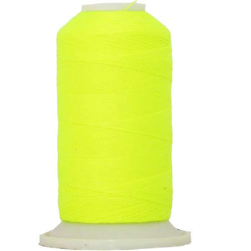 Threadart Polyester All-Purpose Sewing Thread- 600m - 50S/3 - Neon Yellow