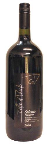 Primitivo Salento IGT Colle al Vento trockener Rotwein 14 % Vol 1,5 L Magnum Flasche