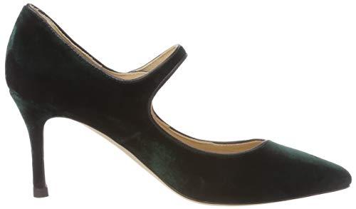 Zapatos Bennett k Para De Grün Punta Tacón ivy Cerrada green 333 Mujer Con Monica L ABSwpqp