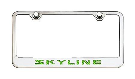 American Car Craft 162008-YLW Yellow Tag Frame Skyline Cf