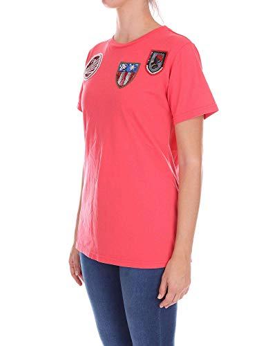 Mujer Rojo Mrs amp; 181ts096e Italy Mr Camiseta nSXgqgx