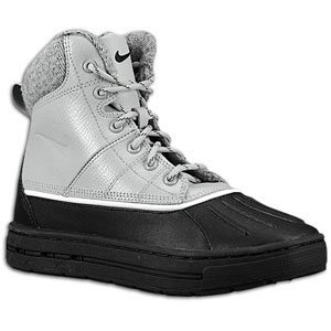 Nike Woodside (GS) ACG Big Kids Boots [415077-004] Matte Silver/Black-Light Bone Boys Shoes 415077-004-4.5 (Nike Acg Boots Woodside)