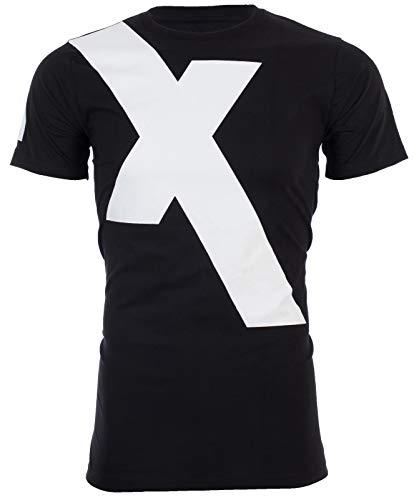 Armani Exchange X Logo Mens T-Shirt Premium Slim Fit Black White Designer