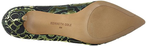 Kenneth Cole New York Vrouwen Shea Puntige Teen Kitten Hakken Loafer Pomp Metallic / Mul