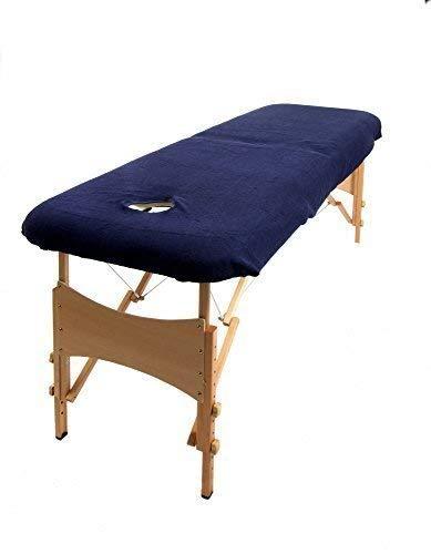 TowelsRus Aztex valor clásico cubierta Sofá de masaje con agujero en la cara Morado elástico polialgodón: Amazon.es: Hogar