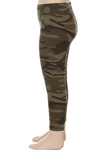 Always Kids Leggings - Army Warrior - Both Sizes Available! Limited Time Only - S/M (Leggings Kids)